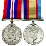 Australian World War II Service Medal Pair. Click for more information...