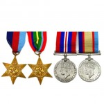 Australian World War II Service Medal Set of 4. Click for more information...