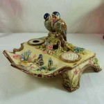 Majolic Desk Set Eichwald Pottery Germany. Click for more information...