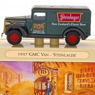 Models of Yesteryear 1937 GMC Van Steinlager. Click for more information...