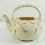 Belleek Teapot First Black Mark. Click for more information...