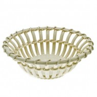 Creamware Basket Weave Bowl. Click for more information...