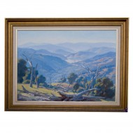 Earnest Buckmaster. Lake Eildon Painting. Click for more information...