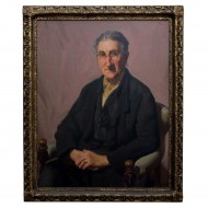 Ernest Buckmaster. Potrait of His Mother. Click for more information...