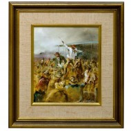 Patrick Kilvington. Do I Place a Bid Painting. Click for more information...