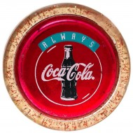 Vintage Gold Sparkle Coca Cola Yo-Yo. Click for more information...