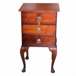 Mahogany Bedside Cabinet. Click for more information...