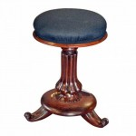 William IV Mahogany Piano Stool. Click for more information...