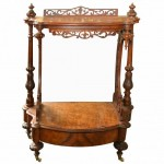 Victorian Walnut Cantebury. Click for more information...