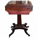 William IV Rosewood Sewing Table.. Click for more information...