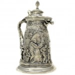 Electro Formed Claret Jug. Click for more information...